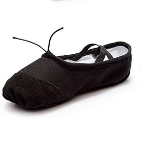 Women's Ballet Shoes Canvas Flat Flat Heel Dance Shoes Black / Red / Pink Category:Ballet Shoes; Upper Materials:Canvas; Heel Type:Flat Heel; Gender:Women's; Style:Flat; Outsole Materials:Leather; Occasion:Training; Listing Date:02/28/2020; Foot Length:; Size chart date source:Measured by LightInTheBox.; Popular Country:United States