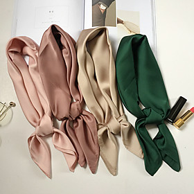 Women's Work / Basic / Cute Square Scarf - Solid Colored