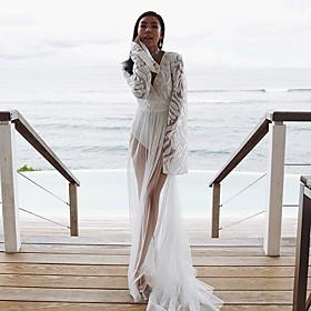 Women's A Line Dress - Solid Color White S M L XL