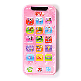 Toy Phones Toys Toys Rechargeable Smart intelligent Novelty Kid's Pieces Holiday:Children's Day; Material:ABS Plastic; Age Group:Kid's; Age:8 to 13 Years,5 to 7 Years; Category:Y-phone,Toy Phone,Educational Toy; Features:Simulation,intelligent,Novelty,Smart,Rechargeable,Music  Light; Shipping Weight:0.2; Package Dimensions:22.02.521.0; Net Weight:0.2; Listing Date:03/25/2019