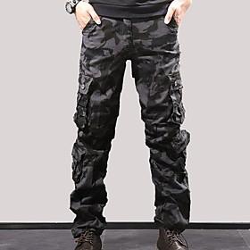 Men's Basic Tactical Cargo Pants Camouflage Black Blue Army Green US32 / UK32 / EU40 US34 / UK34 / EU42 US36 / UK36 / EU44