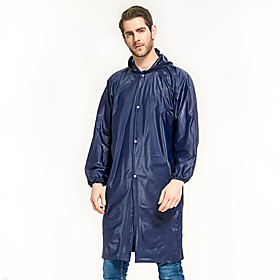 Protective Clothing Anti Dust And Droplet Men's Women's Hiking Raincoat Outdoor Waterproof Windproof Raincoat Army Green / Blue / Royal Blue