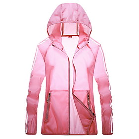 Men's Hooded Trench Coat Regular Color Block Daily Plus Size Long Sleeve White Blushing Pink Fuchsia M L XL