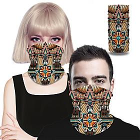 Daily Wear / Street Poly / Cotton Bandanas Fashion / Abstract / Creative - 1 pcs