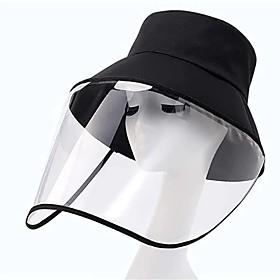 Unisex Basic Sun Hat-Solid Colored All Seasons Black