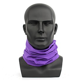 Unisex Basic Polyester Infinity Scarf - Solid Colored