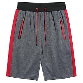 Men's Basic Slim Shorts Pants Print Black Red Gray US32 / UK32 / EU40 US34 / UK34 / EU42 US36 / UK36 / EU44