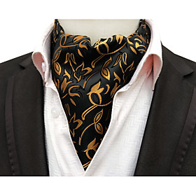 Men's Party / Work / Basic Cravat  Ascot - Print / Jacquard
