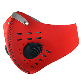 XINTOWN Sports Mask Pollution Protection Mask Windproof Breathable Dust Proof Limits Bacteria Bike / Cycling Black Red Blue Nylon Winter fo