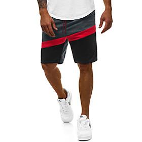 Men's Basic Slim Cotton Shorts Pants Multi Color Black Dark Gray Navy Blue US32 / UK32 / EU40 US34 / UK34 / EU42 US36 / UK36 / EU44