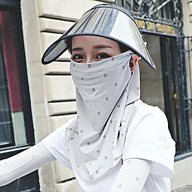 Women's Bandana Balaclava Neck Gaiter Neck Tube UV Resistant Quick Dry Lightweight Materials Cycling Polyester for Men's Women's Adults / Pollution Protection