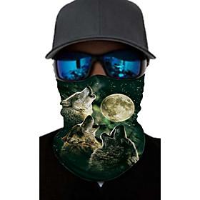 Men's Active / Basic Infinity Scarf / Mask / Balaclavas - Print / Color Block