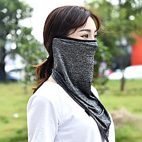 Outdoor Active Contrast Trim Protection Face Scarf