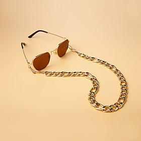 Alloy Eyewear Eyewear Accessories Set For Holiday Street Golden 1 Piece / Women's