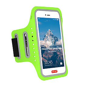 Phone Armband Running Armband for Running Hiking Outdoor Exercise Traveling Sports Bag Adjustable Waterproof Portable Lycra Men's Women's Running Bag Adults