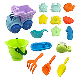 Beach Toy Beach Sand Toys Set Outdoor Novelty Toys Water Toys Water Play Toys Sand Toys Kid's Beach Theme Soft Plastic 16 pcs Boys' Girls' Gender:Girls',Boys'; Quantity:16; Theme:Beach Theme; Material:Soft Plastic; Age Group:Kid's; Age:7 years; Category:Beach Sand Toys Set,Sand Toys,Water Play Toys,Water Toys,Novelty Toys,Outdoor,Beach Toy; Net Dimensions:21.215.621; Package Dimensions:21.215.621.0; Net Weight:0.52; Listing Date:05/20/2020