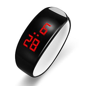 Men's Digital Watch Digital Modern Style Stylish Silicone Black / White LCD Cool Digital Casual Fashion - White Black One Year Battery Life