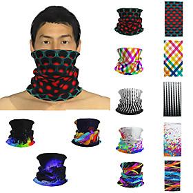 Men's / Unisex 3D Print Square Scarf / Infinity Scarf / Hijab - Print / Color Block Multifunctional