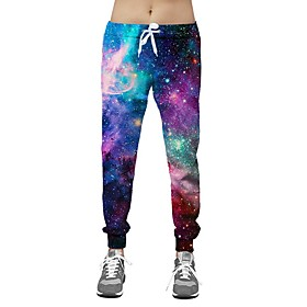 Men's Basic Slim Chinos Pants Galaxy Rainbow US32 / UK32 / EU40 US34 / UK34 / EU42 US36 / UK36 / EU44