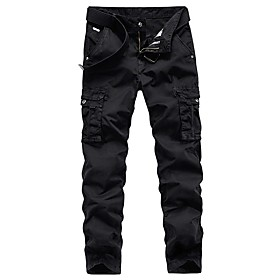Men's Hiking Pants Hiking Cargo Pants Summer Outdoor Breathable Quick Dry Soft Sweat-wicking Cotton Pants / Trousers Bottoms Running Camping / Hiking Hunting B