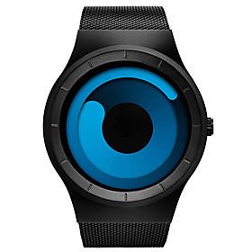 Men's Dress Watch Quartz Stylish Casual Calendar / date / day Analog Purple BlackPurple Black / Blue / One Year / Titanium Alloy