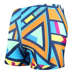 Men's Beach board shorts Swimsuit Print 3D Swimwear Bathing Suits Rainbow