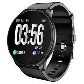 W6 Smartwatch Men Health Fitness Smart watch Heart Rate Calorie Counter Sleep Tracking Waterproof Bluetooth Smart Bracelet Women Model:W6; Gender:Men Women; Screen Type:LED; Sensor:Heart Rate Sensor,Proximity Sensor; Supported Operating Systems:Android 4.4 and iOS 8.0 or above; Connection:Bluetooth; Capacity:140; Type:Smartwatch; Screen Size:1.3; Fitness  Wellness:Pedometer,Sleep Tracker,Activity Tracker,Calendar,Exercise Reminder,Sedentary Reminder,Call Reminder,Chronograph; Compatibility:Android iOS; Item Type:Sport Smartwatch,Bluetooth Smartwatch,Tracker Bracelet,Outdoor Smartwatch,Android Smartwatch,Fashion Bracelet,Leather Bracelet,Touch Bracelet,Fitness Smartwatch,Fitness Bracelet,Waterproof Smartwatch,Man Bracelet; Water Resistance Depth:30; Waterproof Level:IP 67; Features:Heart Rate Monitor,Anti-lost,Long Standby,Camera Control,Sports,Smart,Message Control,Information,Waterproof,Distance Tracking,Blood Pressure Measurement,Calories Burned; Listing Date:06/01/2020; Instructions:Chinese,English