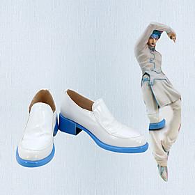 Cosplay Shoes JoJo's Bizarre Adventure Rohan Kishibe Anime Cosplay Shoes PU Leather Men's / Women's 855