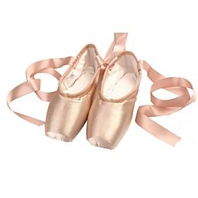 Women's Ballet Shoes Flat Flat Heel Satin Pink