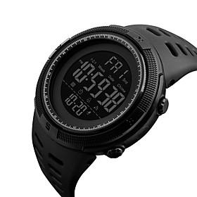 Men's Sport Watch Military Watch Wrist Watch Japanese Digital 50 m Water Resistant / Water Proof Alarm Calendar / date / day PU Band Digital Fashion Black - Bl