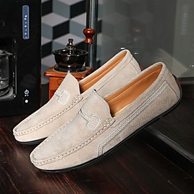 Men's Loafers  Slip-Ons Daily PU Black / Yellow / Blue Summer