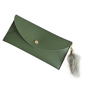 Women's Bags PU Leather Wallet for Daily Black / Purple / Green / Fall  Winter
