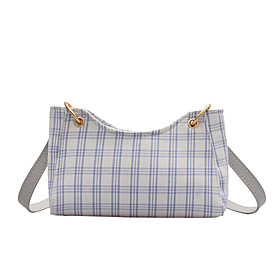 Women's Bags Canvas Crossbody Bag for Daily / Holiday White / Blue / Fall  Winter
