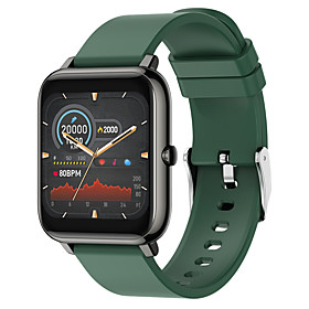 Long Battery-life Smartwatch for Apple/ Android/ Samsung Phones, Sports Tracker Support Play Music