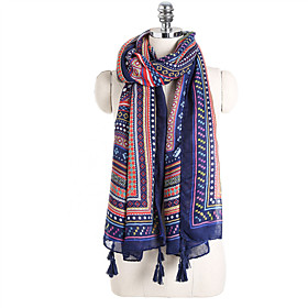Women's Active Rectangle Scarf - Striped / Print / Color Block Multifunctional