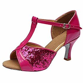 dance shoes for women rumba waltz prom ballroom latin salsa social prom wedding sandals maoyou hot pink