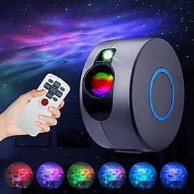 Star Projector Laser Galaxy Starry Sky Projector LED Night Light with Remote Night Star Projector with 15 Mode Lighting Shows for For Bedr
