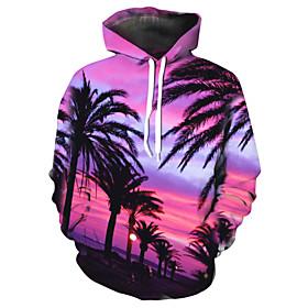 Men's Hoodie Graphic Hooded Casual Hoodies Sweatshirts  Blushing Pink