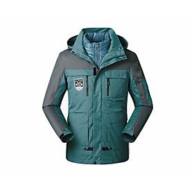 Men's Hooded Overcoat Long Solid Colored Daily Basic Long Sleeve White Blue Yellow US32 / UK32 / EU40 US34 / UK34 / EU42 US36 / UK36 / EU44