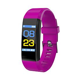 Men's Sport Watch Military Watch Smartwatch Digital Charm Water Resistant / Waterproof Digital Black Purple Red / Silicone / Alarm / Calendar / date / day / Sl