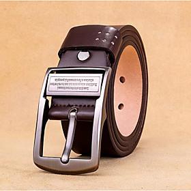 Men's Basic Leather Waist Belt - Solid Colored