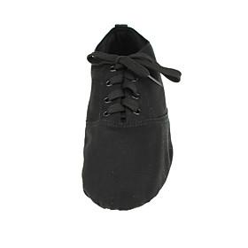 Men's Women's Dance Shoes Ballet Shoes / Jazz Shoes / Dance Sneakers Flat Sneaker Flat Heel White / Black / Red / Performance / Ballroom Shoes / Practice