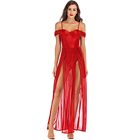 Women's A-Line Dress Maxi long Dress - Sleeveless Solid Color Backless Summer Off Shoulder Sexy Party Slim 2020 Blue Red S M L XL