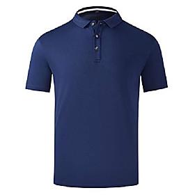 butamp; #39;s summer lightweight breathable workout training gym shirts mesh fitness sports polo golf shirtsamp; #40;navy,us mamp; #41;