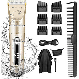 Professional Hair Clippers for Men Kids Professional Hair Trimmer Set Cordless Rechargeable...