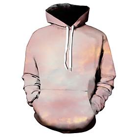 Men's Hoodie Graphic Hooded Casual Hoodies Sweatshirts  Beige