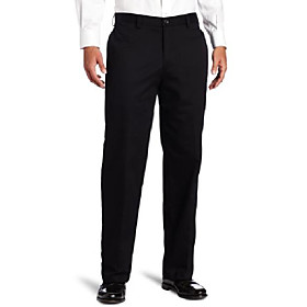 men's american chino flat front classic fit pant, pumice, 30w x 32l