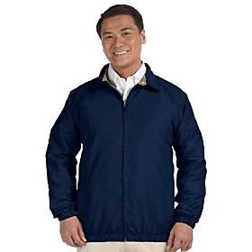 ha microfiber club jacket (navy/stone) (m)