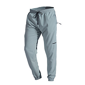 Men's Joggers Jogger Pants Athletic Bottoms Zipper Pocket Drawstring Fitness Gym Workout Performance Running Training Breathable Quick Dry Soft Normal Sport Da