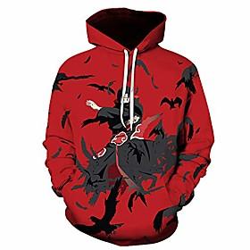 Men's Hoodie Pullover Sweatshirt 3D Sports  Outdoors Hoodies Sweatshirts  LEB02B1 LEB02B10 LEB02B11